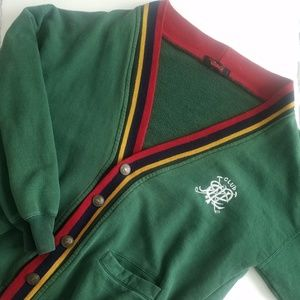 Other - Vintage 90s style Village Golf Club Cardigan